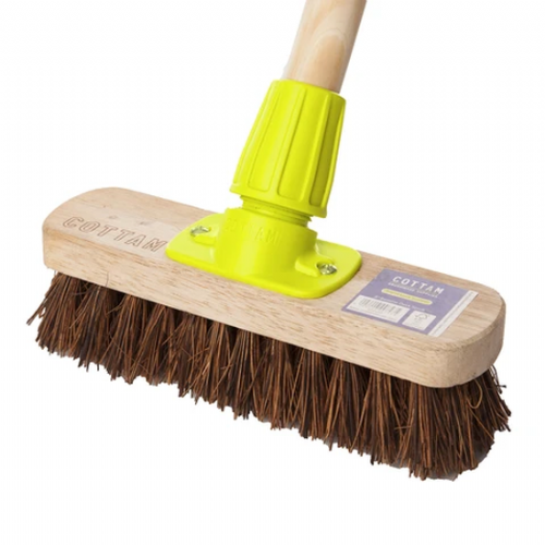 "1.2m Scrubbing Brush with 7"" Brush Head"